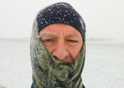 Trainingswanderung im Winter